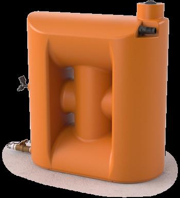 Cisterna 150 Litros Para Máquina de Lavar. Kit Reúso de Água