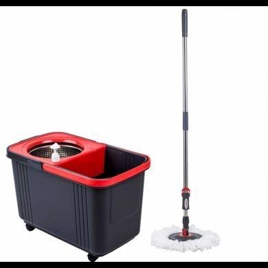 Carro conj. Balde e Mop centrifuga de inox