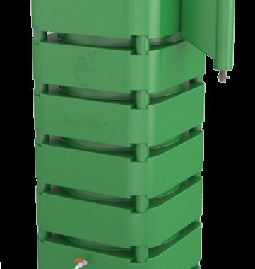Cisterna Vertical Modular 1050 Litros. Kit Reúso de Água