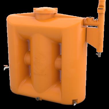 Cisterna Vertical Modular 1000 Litros. Kit Reúso de Água